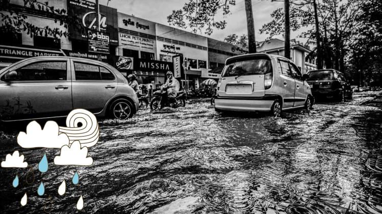 吴哥窟雨季