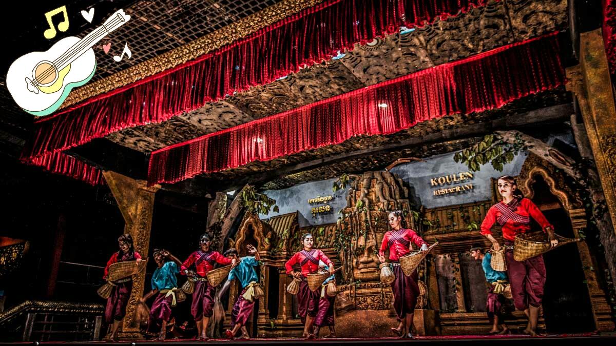 柬埔寨传统舞蹈