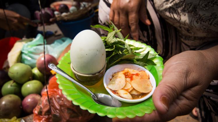 柬埔寨鴨仔蛋