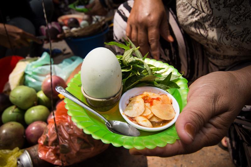 柬埔寨鸭仔蛋