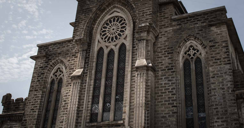 法国殖民时期的越南教堂