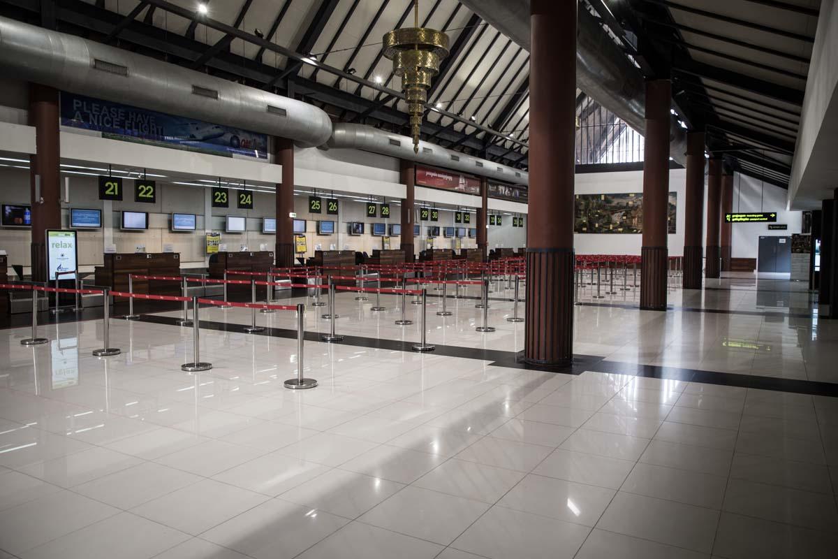 柬埔寨新冠肺炎特別報導 - 暹粒機場