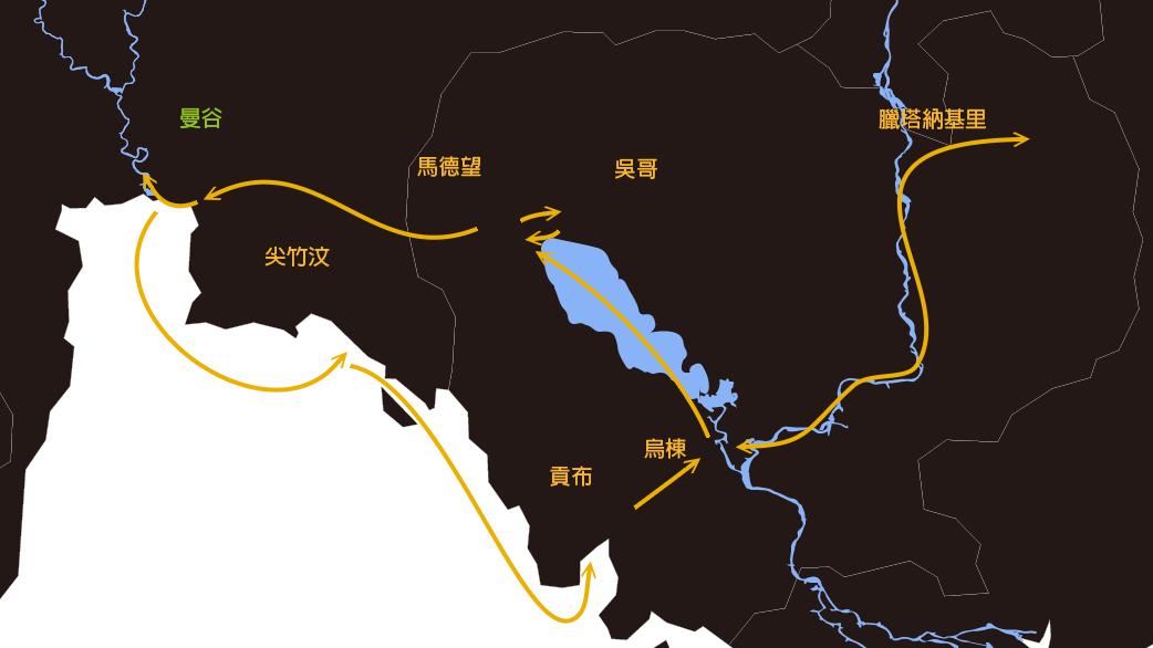 亨利·穆奧-柬埔寨旅遊路線
