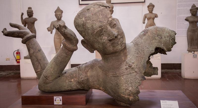 毗濕奴銅像